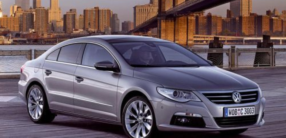 Volkswagen Passat CC. Международная премьера