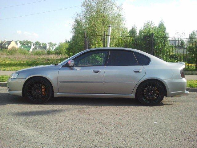 Subaru Legacy tuned by STI. Отзывы владельцев