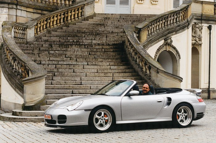 Porsche 911 Turbo Cabriolet. В единое целое