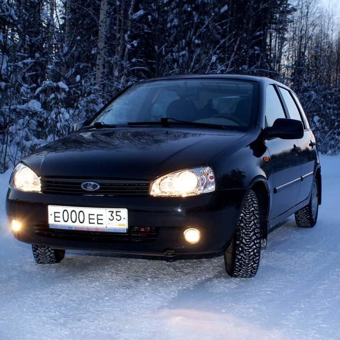 Лада Калина, моя машина!