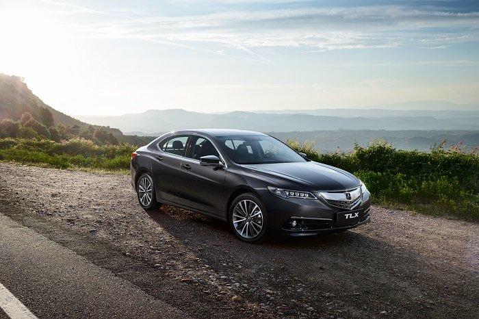 В России стартуют продажи седана Acura TLX