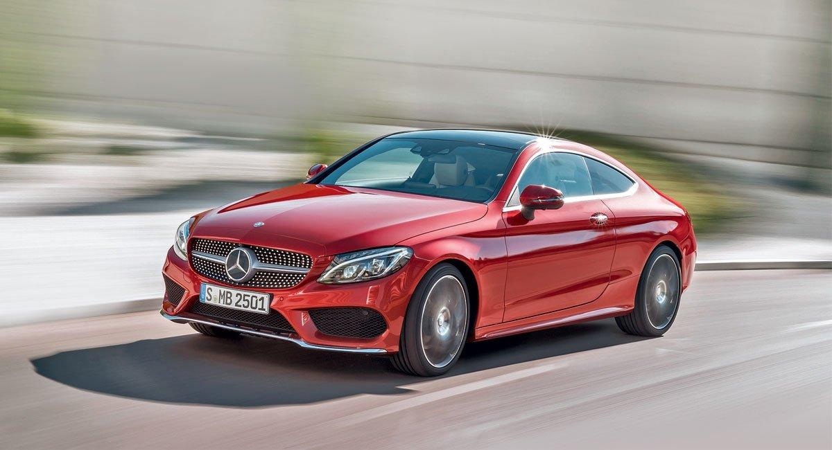 Mercedes-Benz C-Class Coupe. Купи купе