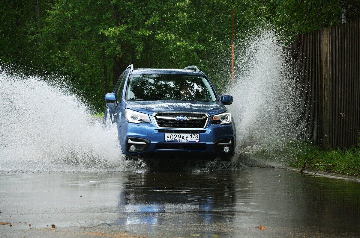 Subaru Forester. Приятные мелочи