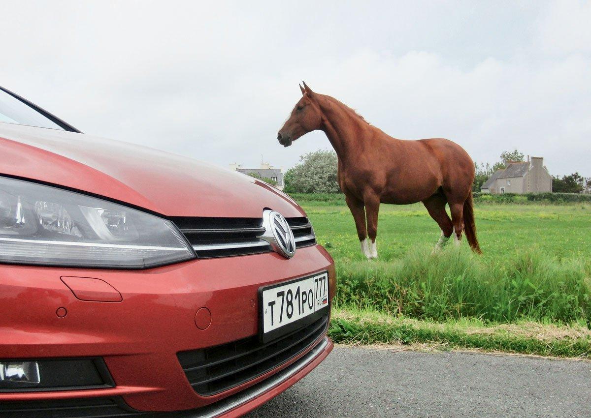 Volkswagen Golf. Пришелец