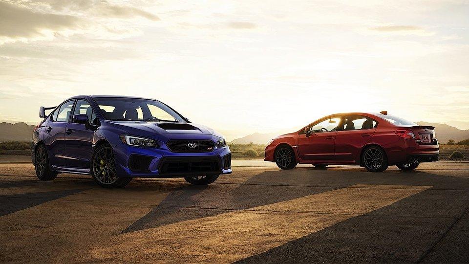 Subaru привезла в Детройт обновленные WRX и WRX STI