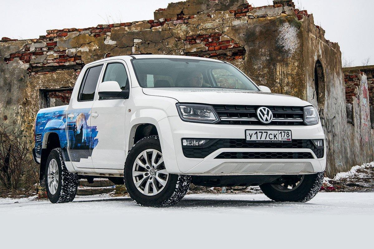 Volkswagen Amarok. Стирающий границы
