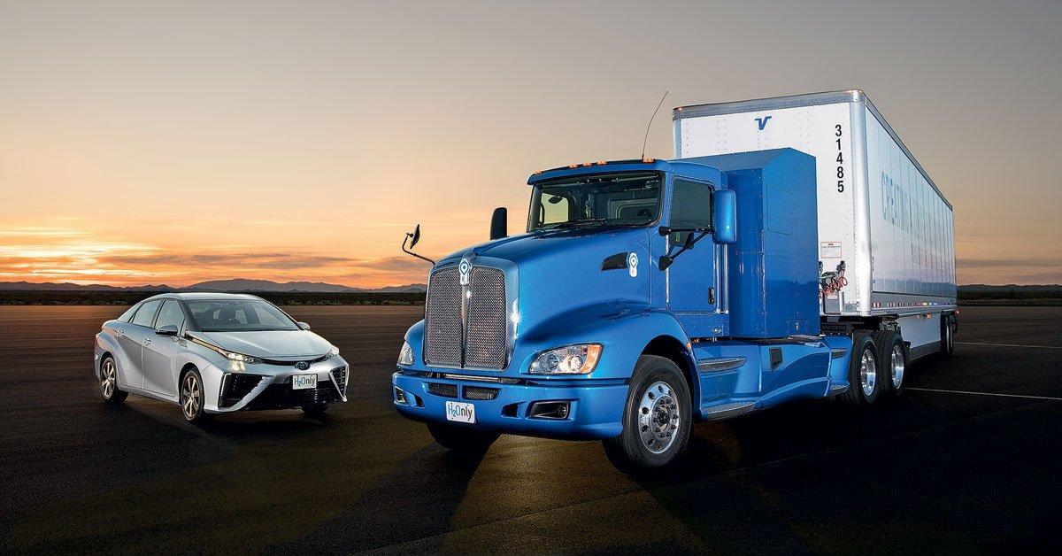 Гидрогенный «магистральник»: грузовик на топливных элементах