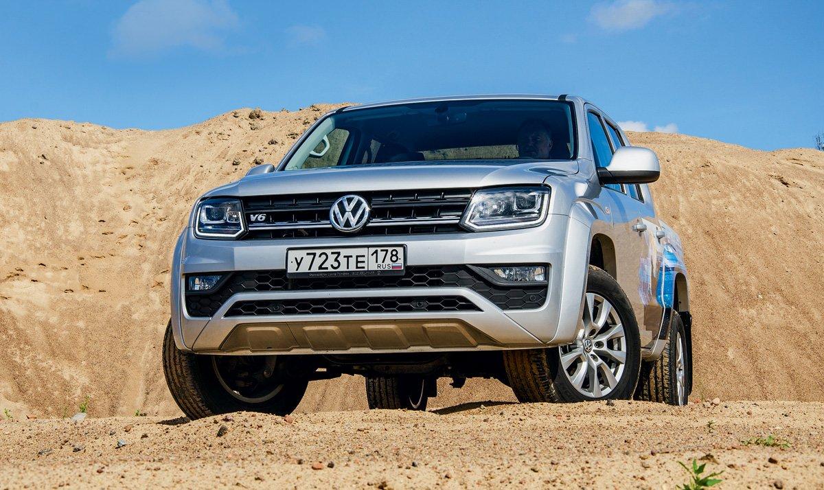 Volkswagen Amarok V6. Веский аргумент