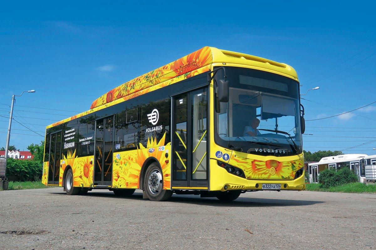Газовый  «Подсолнух»: опыт эксплуатации автобуса Volgabus 5270G2