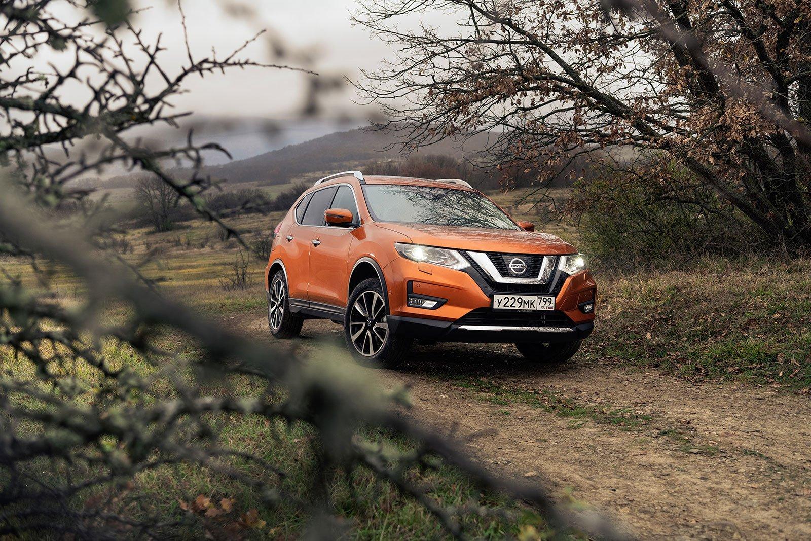 Тест-драйв Nissan X-Trail. Есть над чем подумать