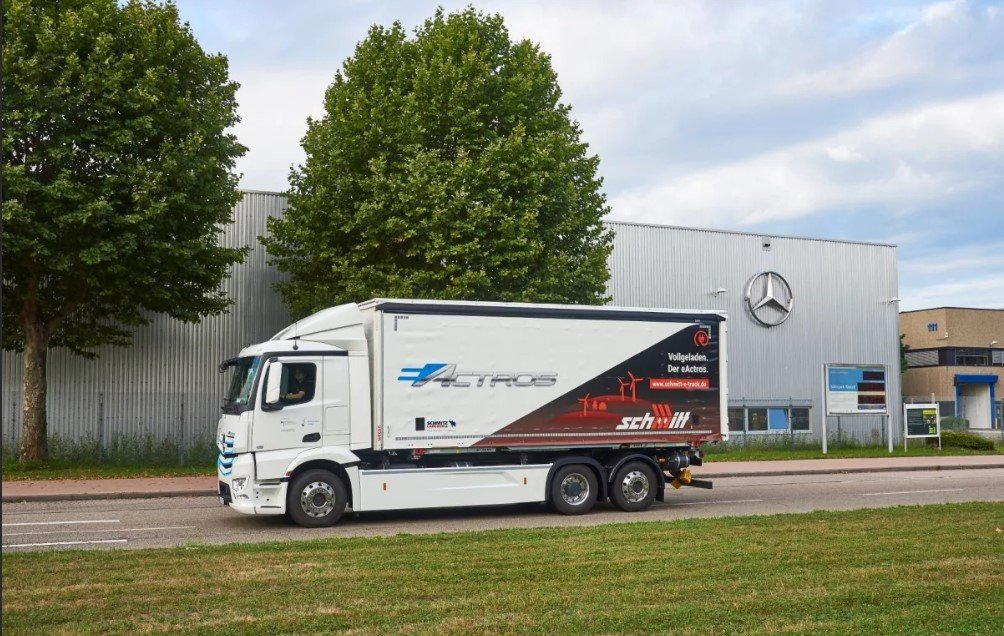 Mercedes-Benz eActros: электрогрузовик проходит испытания