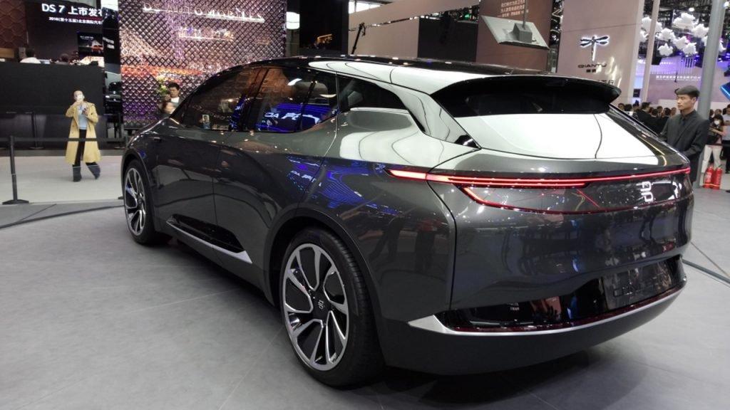 BYTON начал производство электромобиля M-Byte