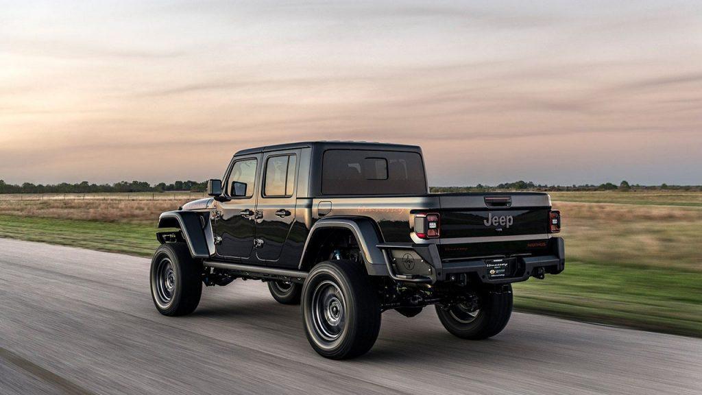 Пикап Jeep превратили в 1000-сильного монстра. Видео