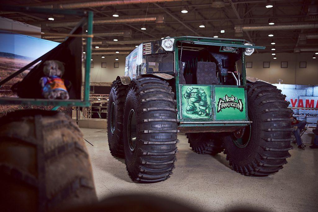 Выставка «Вездеходер» впервые прошла в Москве