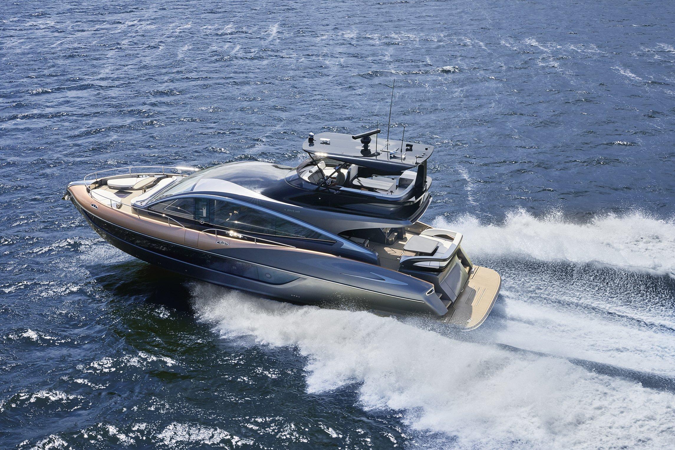 Lexus LY 650: первая серийная яхта от Лексус
