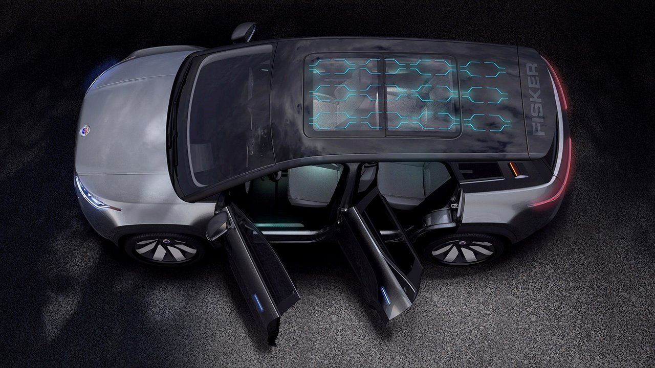 Fisker готовит конкурента Tesla Model X