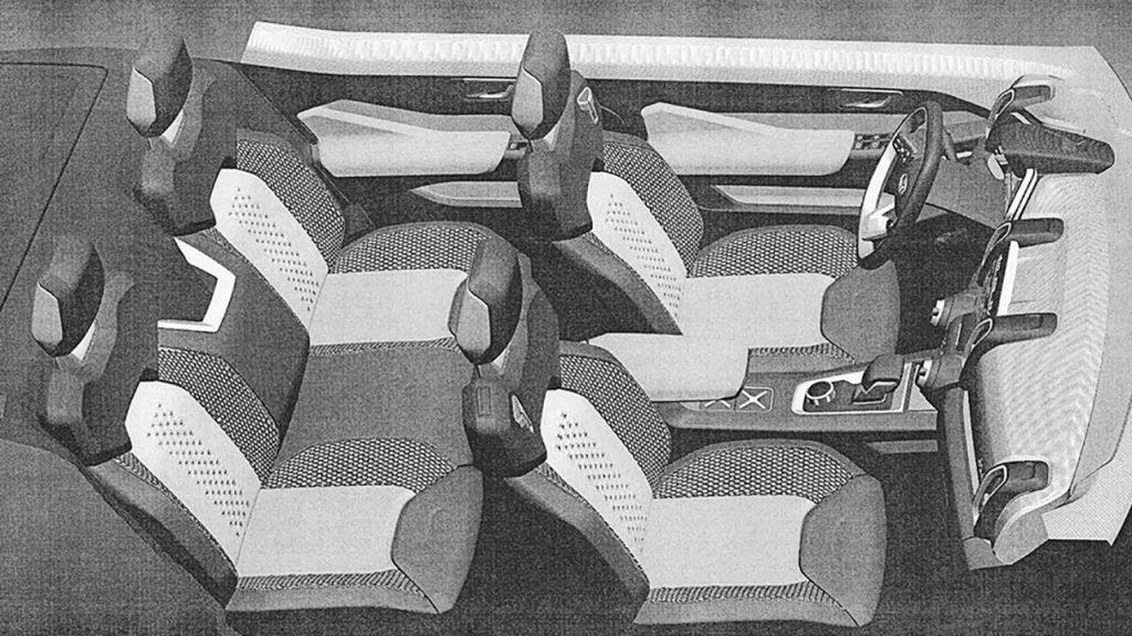 Новая Lada 4×4: первые изображения интерьера