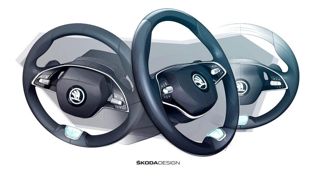 Skoda показала новую Octavia на официальном видео - новости транспорта