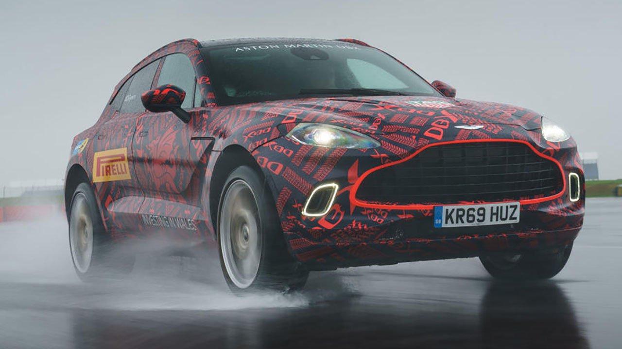 Aston Martin DBX будет дороже Bentley Bentayga