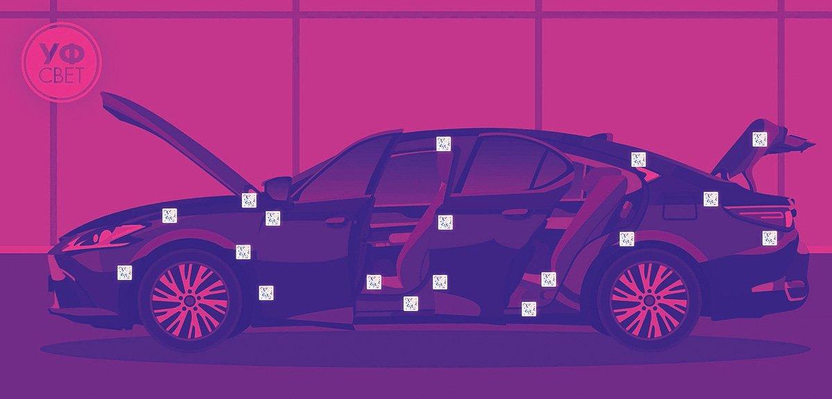 Как не угнать Lexus. Микроточки, которые делают кражу машины бессмысленной