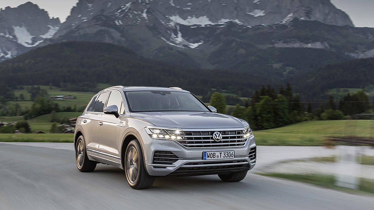 Volkswagen Touareg получил в России новый двигатель