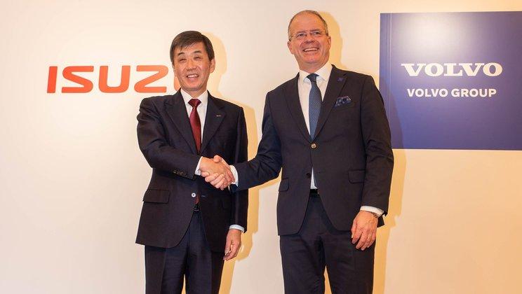 Шведско-японская перспектива: Volvo Group и Isuzu Motors подписали меморандум о взаимопонимании