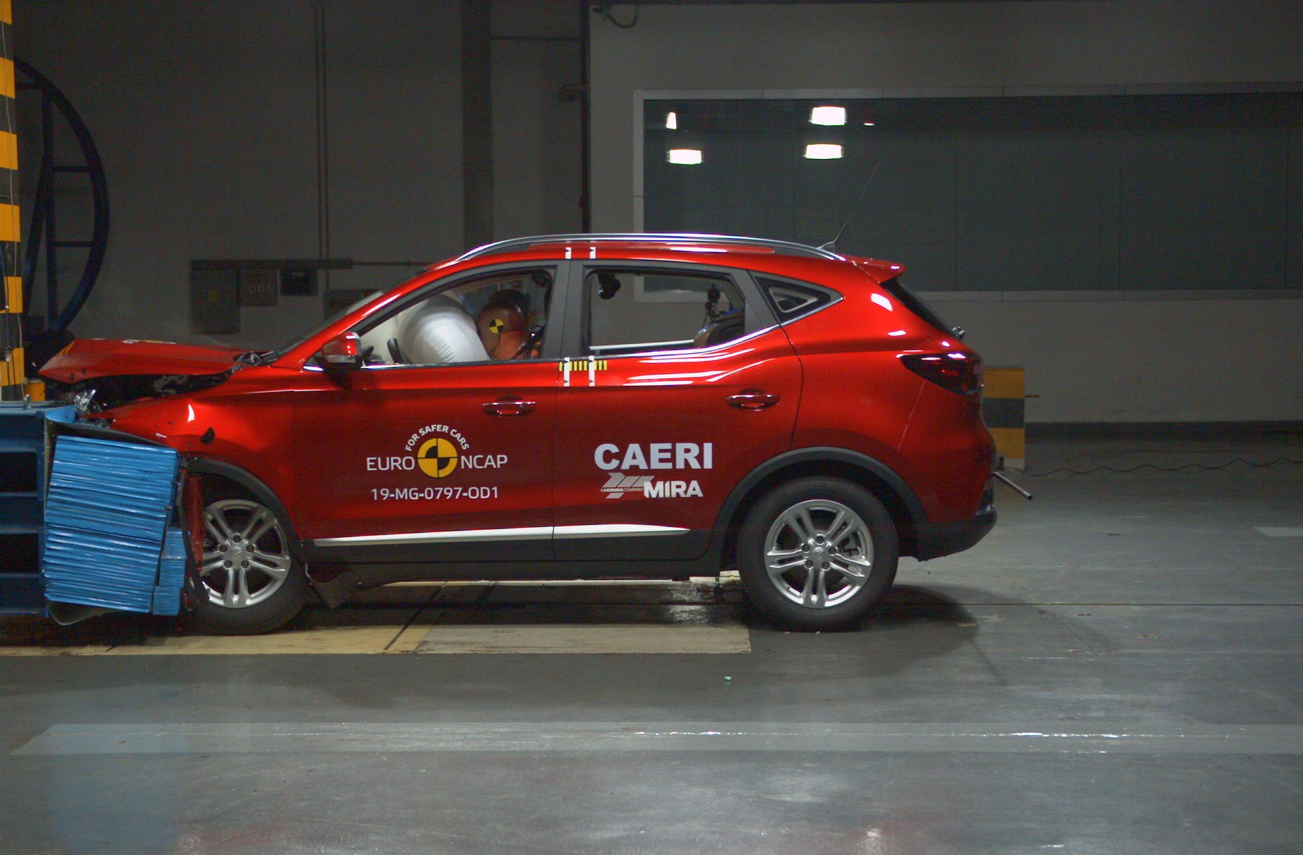 EuroNCAP впервые в истории оценил безопасность китайских автомобилей