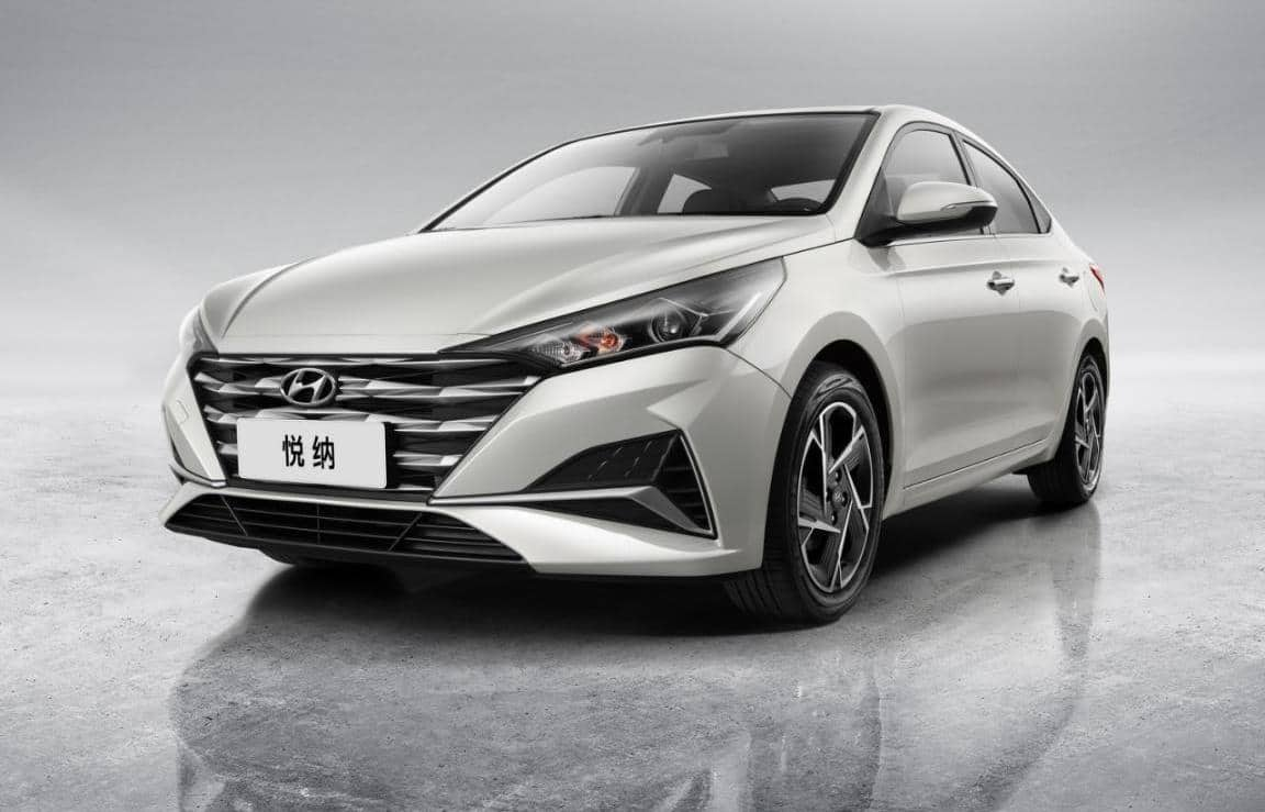 Обновленный Hyundai Solaris дебютирует в начале 2020 года