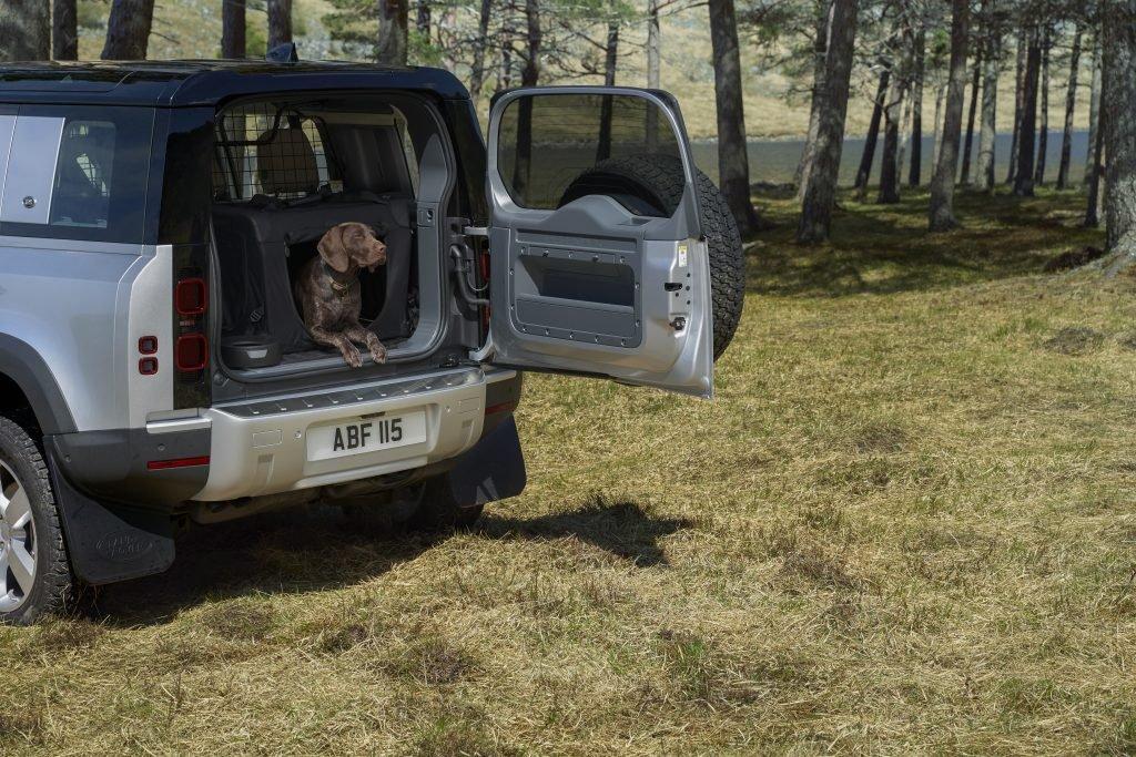 Jaguar Land Rover испытывает прочность ЛКП с помощью собачьей лапы