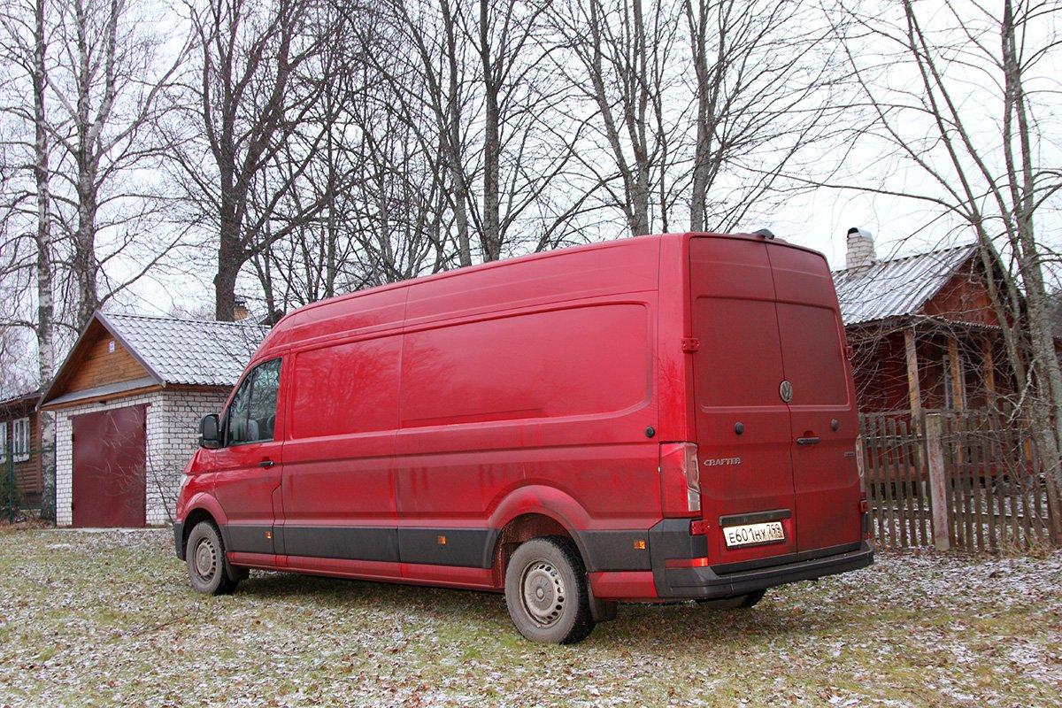 Что может немецкая «Газель» за 4 миллиона: тест VW Crafter Kasten 4 motion