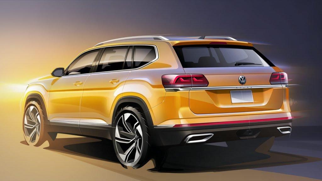 Volkswagen Teramont обновится в феврале 2020 года