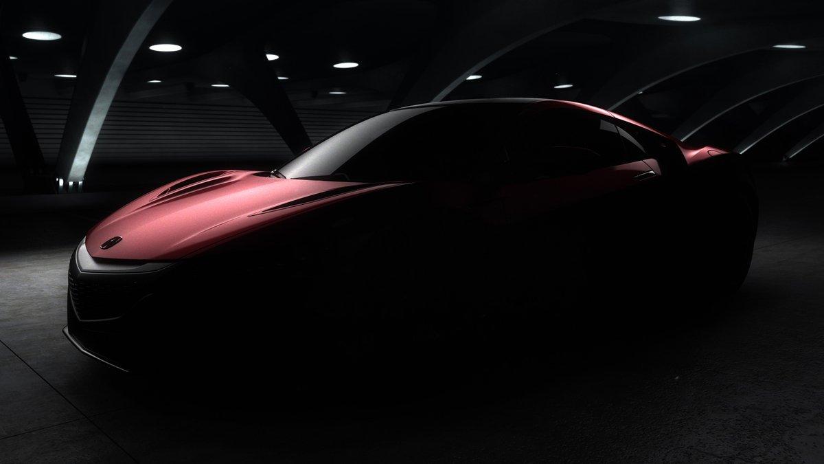 Acura NSX дебютирует на автосалоне в Детройте в январе 2015 года