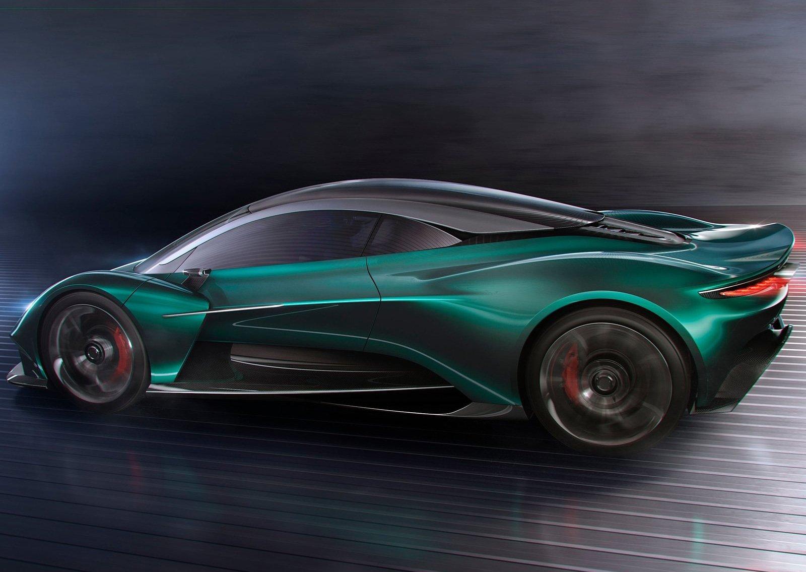Aston Martin Vanquish Vision: серийный гиперкар