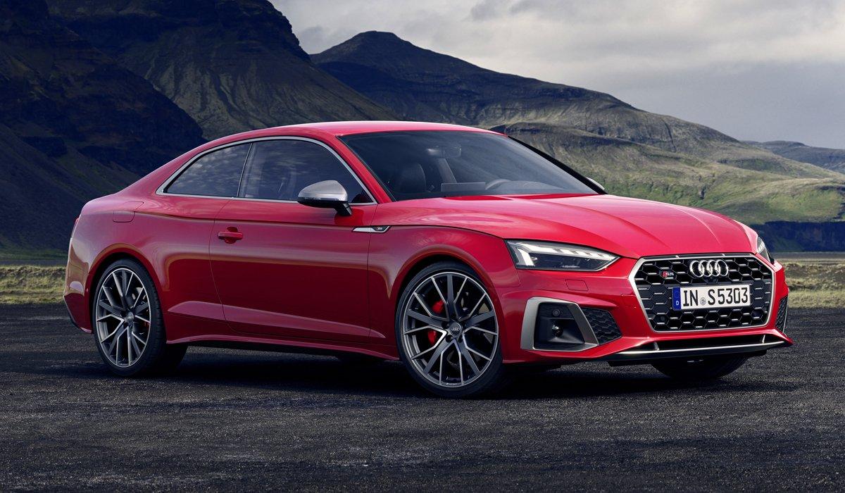 Audi A5: премьера обновленной «пятерки» на IAA 2019