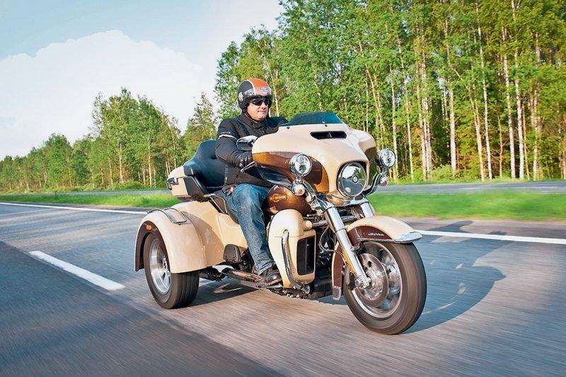 От Москвы до Минска на «электричке». Harley-Davidson Electra Glide