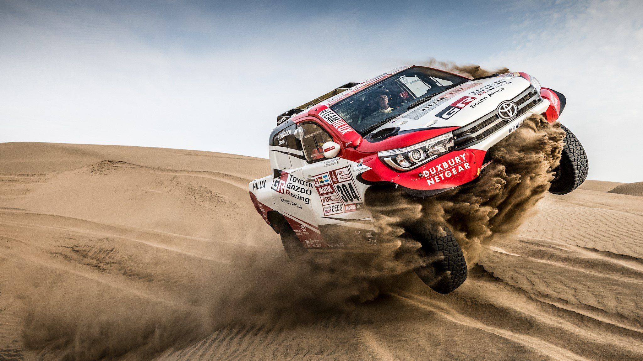 Toyota выходит на старт «Шёлкового пути»