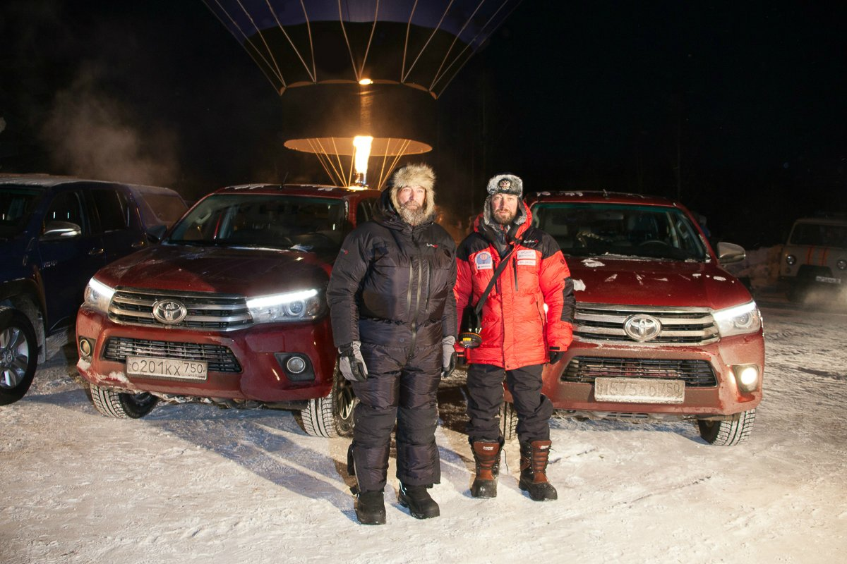Федор Конюхов + Toyota Hilux = новый рекорд