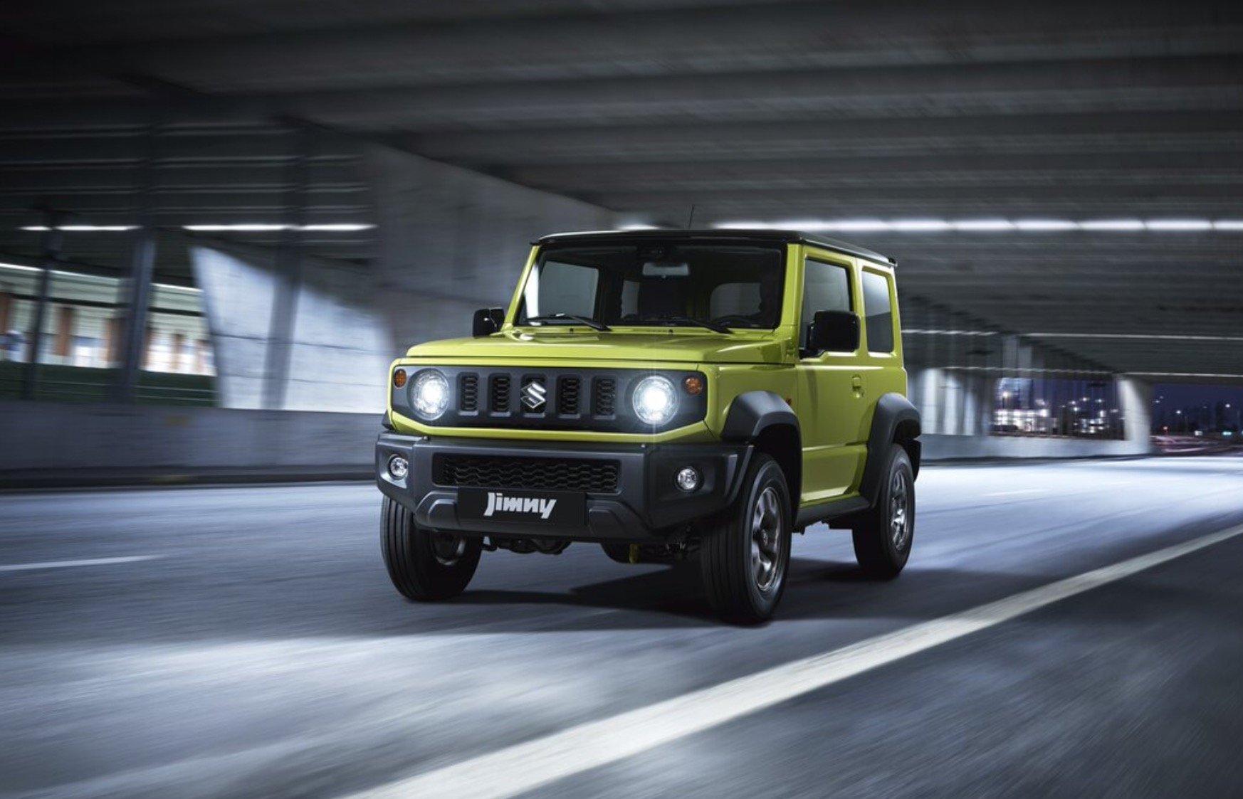 Названы комплектации Suzuki Jimny для России