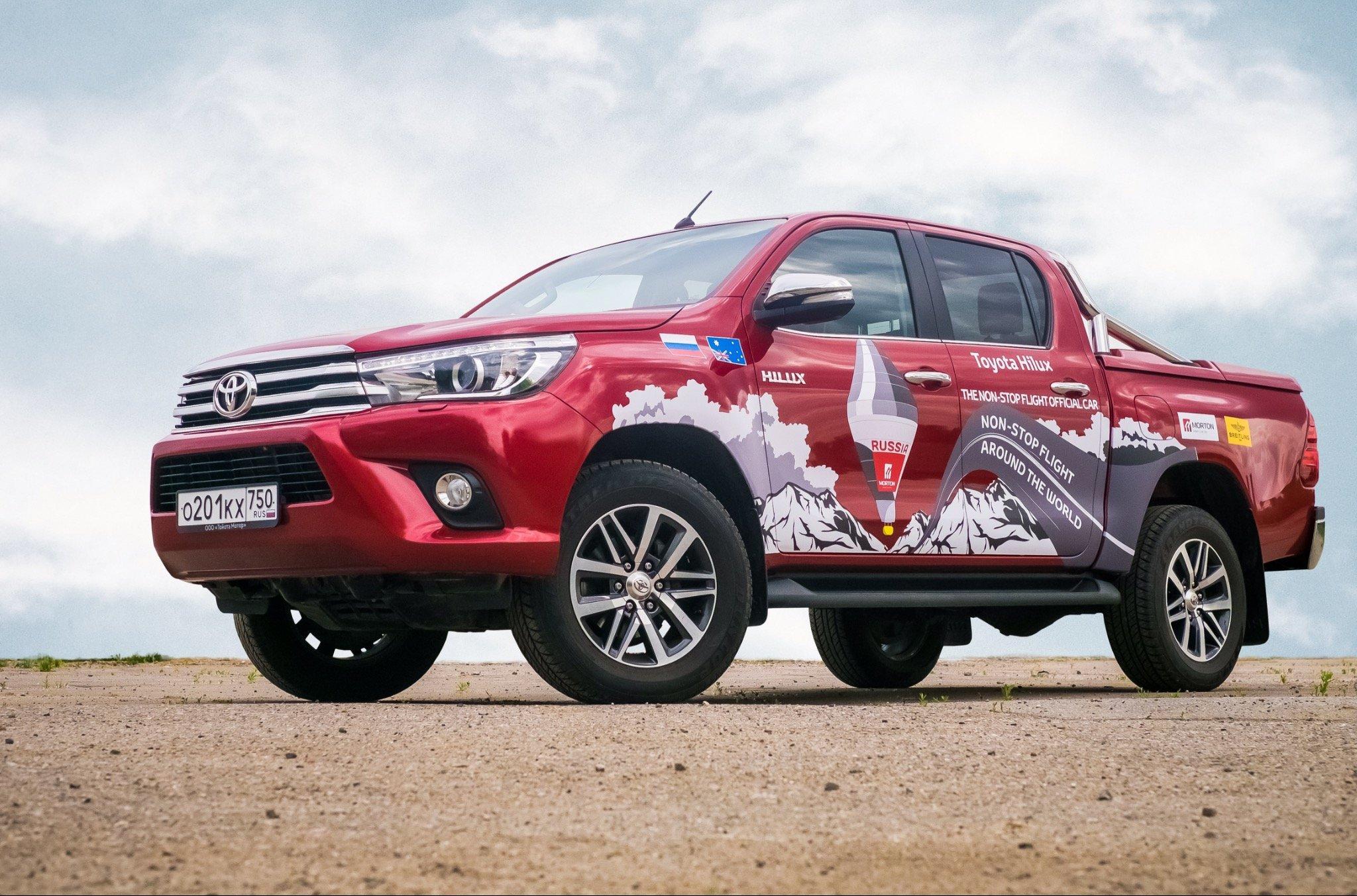 Toyota Hilux и Федор Конюхов вновь идут на рекорд