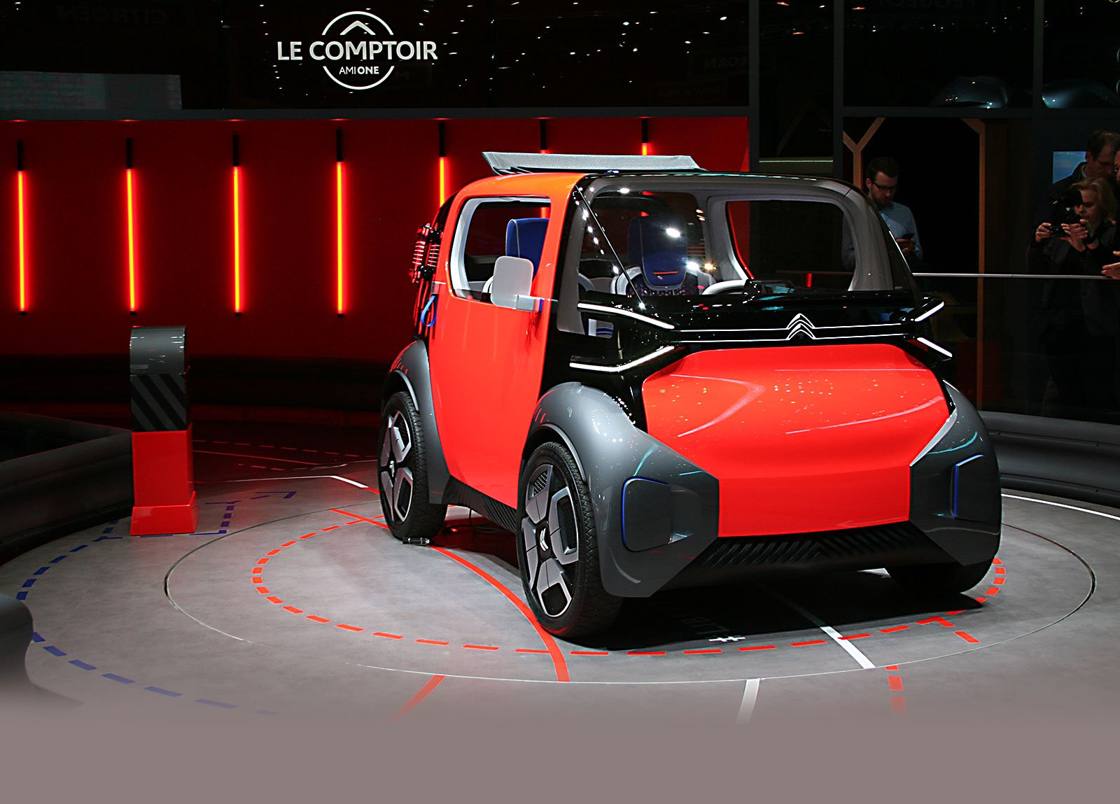 Citroen Ami One Concept: и концепт, и концепция