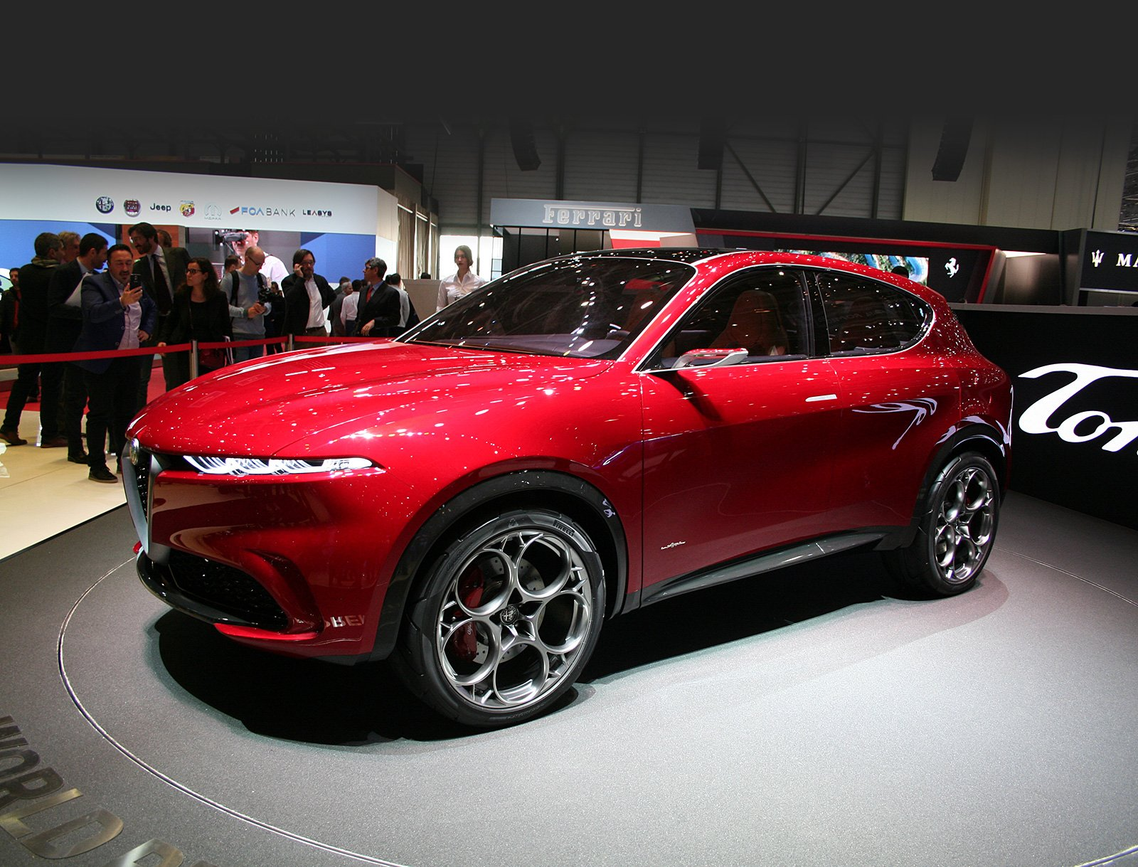 Alfa Romeo Tonale: наслаждаясь красотой
