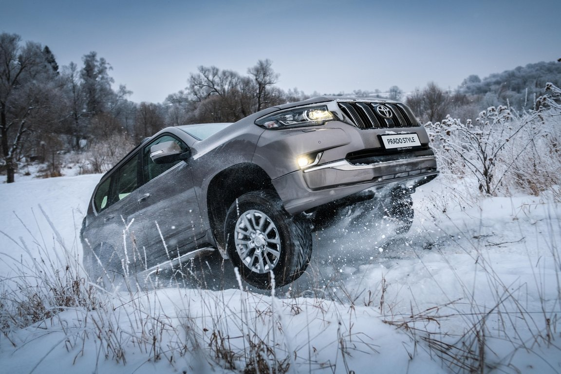 Toyota Land Cruiser Prado получил комплектацию Style