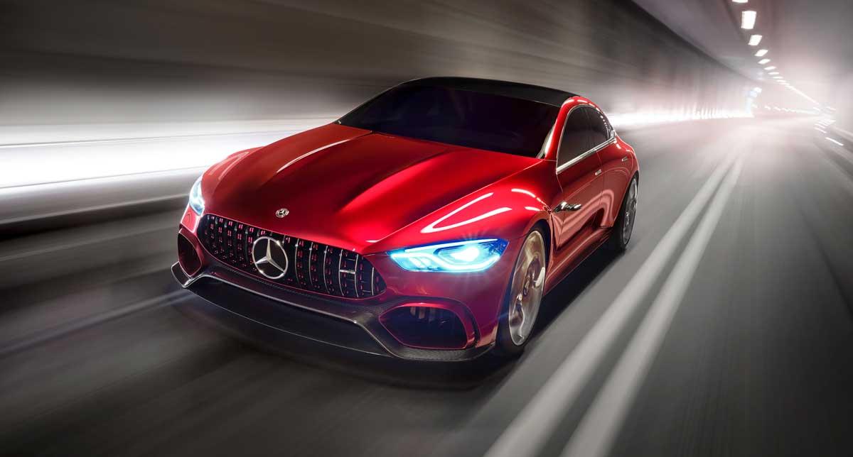 Mercedes-AMG GT Concept. Дань моде