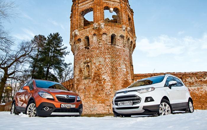 Ford EcoSport против Opel Mokka. Два берега одной реки