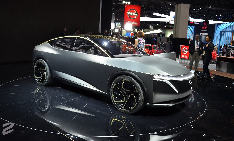 Nissan IMs: электрический трон