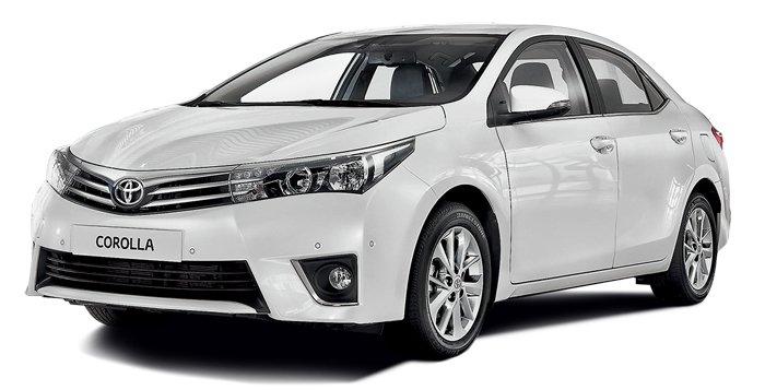 Toyota Corolla. Вышла в тираж