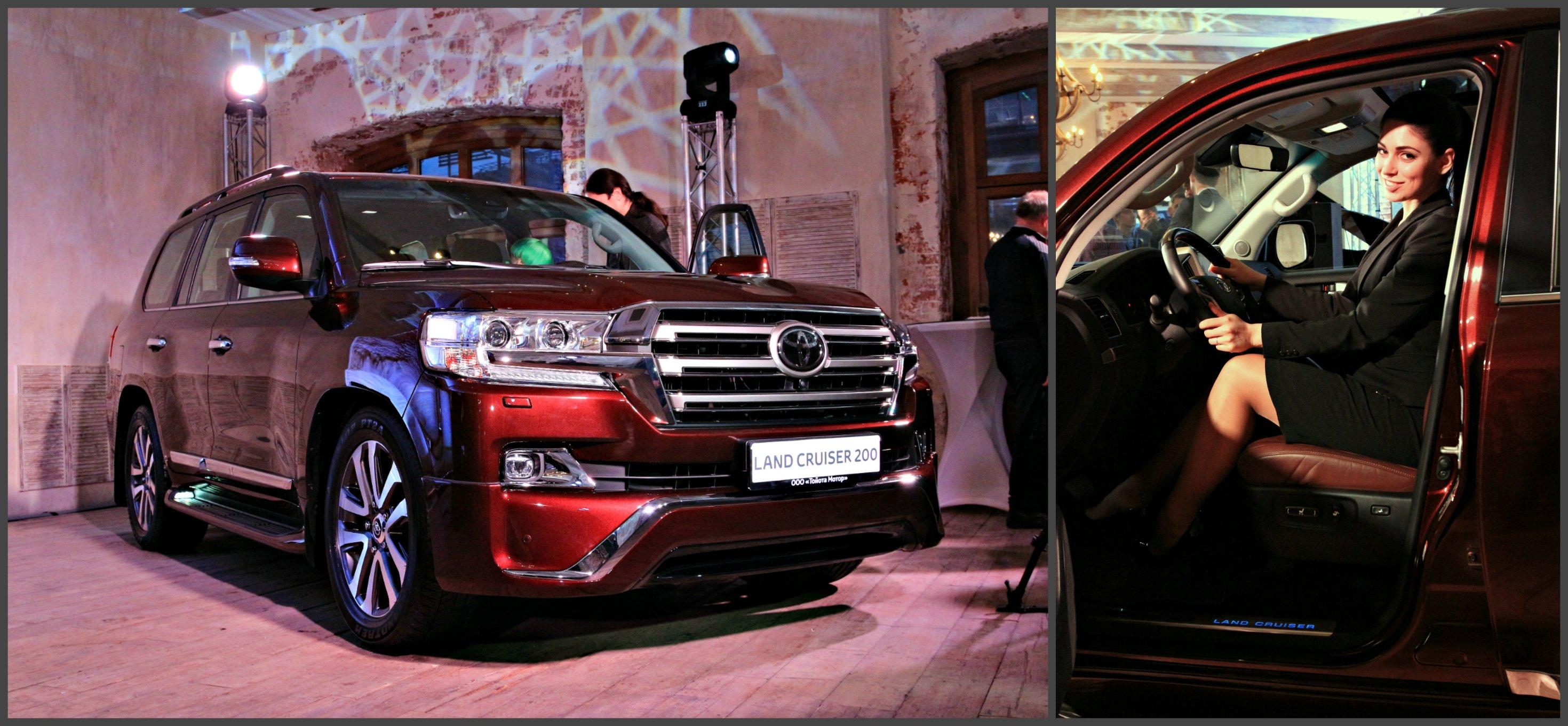 Toyota Land Cruiser 200 Executive: гидропневматика, большие колеса и обвес