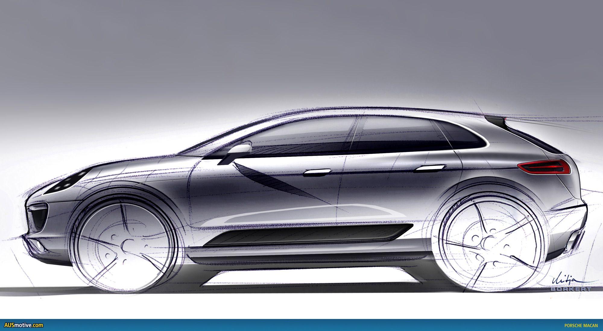 Porsche Macan станет электрическим