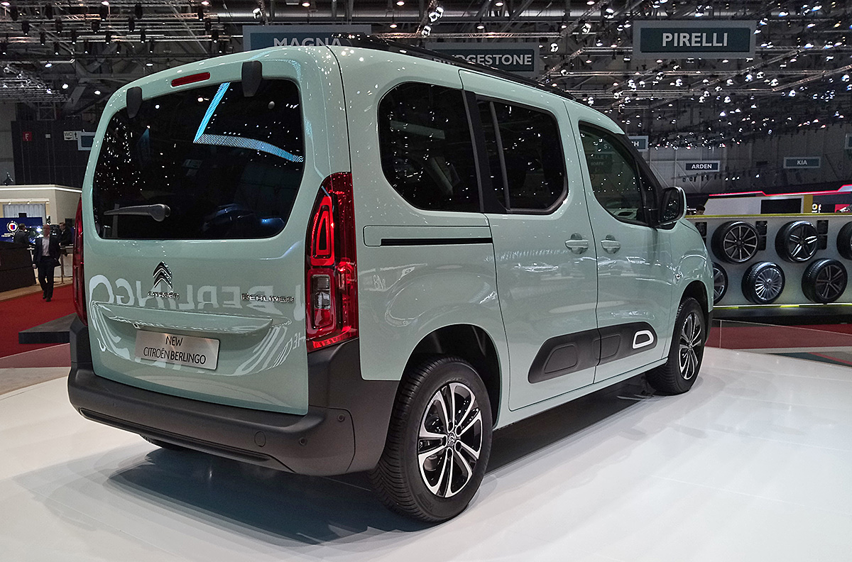 Citroen Berlingo: разрыв шаблона