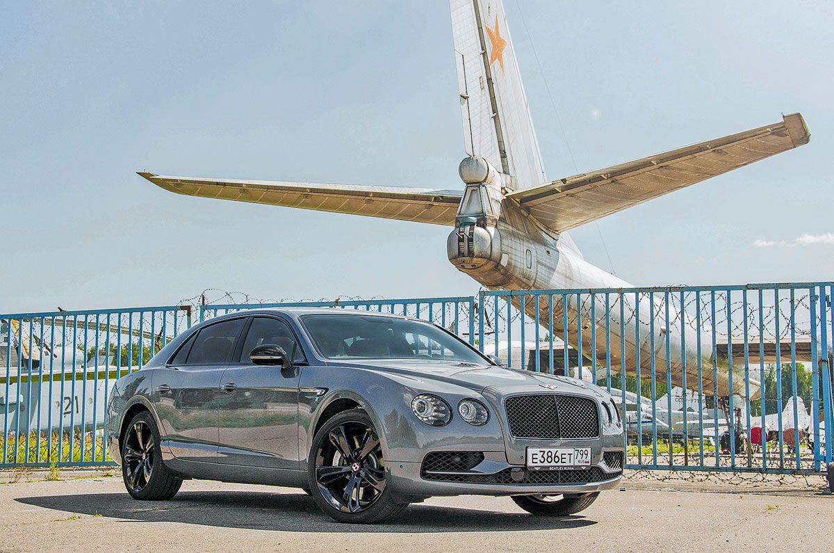 тест драйв Bentley Flying Spur V8 S Black Edition